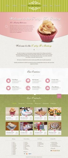 The Tally-Ho Bakery - Online shop and advertising website. by Raj Mahato