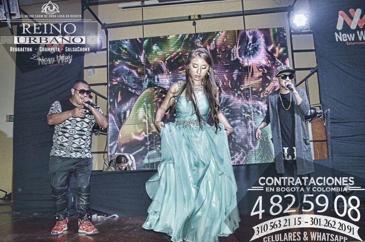 El Show Urbano para todo tipo de Publico. #MCM El Mejor #Show de #Reggaeton , #Champeta y #SalsaChoke de #Bogota y #Colombia.  REINO URBANO, 7 Años líderes en la produccion de #Horaloca Urbana para #15Años, #Matrimonios y #eventosEmpresariales en Bogota y Colombia. #TBT   Contrataciones en Bogota y Colombia  EULICES ALBAÑIL CORTES Brand Manager Cel. 3105632115 - 3012622091 WhatsApp. 3105632115 - 3012622091 Tel & Fax. (091) 4825908 www.showreggaeton.com  #WCW #Concert #Summer #Night #Glamour…
