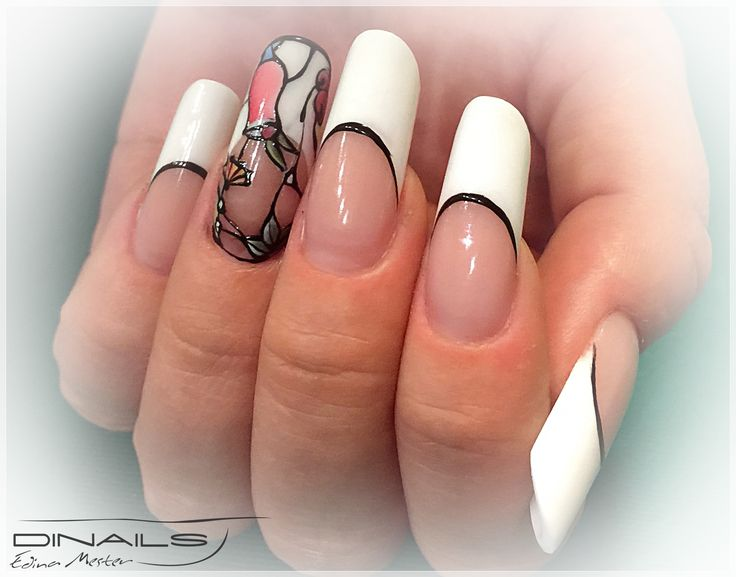 13 best Nails by Edina Mester images on Pinterest   Stiletto nails ...