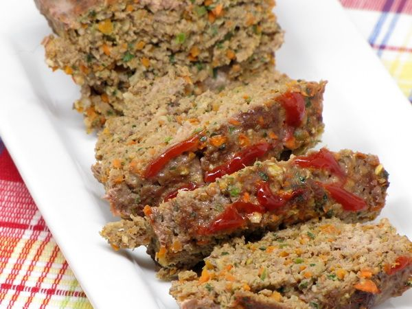 Good and Healthy Meatloaf--205 calories per serving