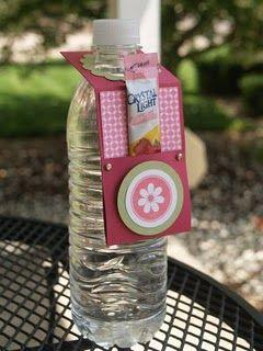 Water bottle craft
