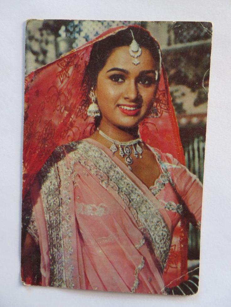 PADMINI KOLHAPURE India bollywood actress Picture postcard Collection 15 x 10cm