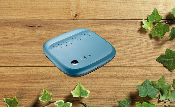 how to connect to seagate wireless hard drive