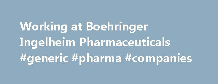 Working at Boehringer Ingelheim Pharmaceuticals #generic #pharma #companies http://pharma.remmont.com/working-at-boehringer-ingelheim-pharmaceuticals-generic-pharma-companies/  #bi pharma # Boehringer Ingelheim Pharmaceuticals I applied online. The process took 2+ months. I interviewed at Boehringer Ingelheim Pharmaceuticals (New York, NY). 3 part phone interview process. One with recruiter, one with hiring manager and one with hiring manager and hiring manager counterpart. The entire…