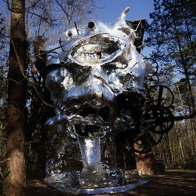 Le Cyclop - Milly-la-Forêt, France, Jean Tinguely and friends, 1969-89 Le Cyclop | Atlas Obscura