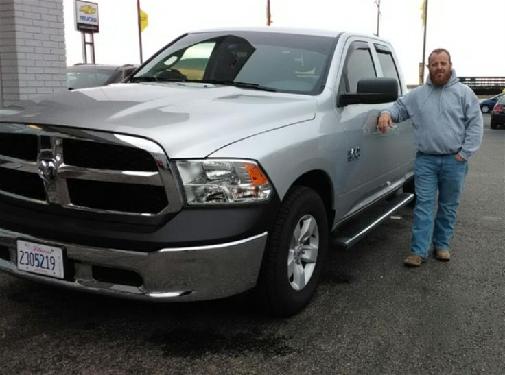 Cgc maintenance and repair chad and CHAD's new 2017 RAM 1500! Congratulations and best wishes from Kunes Country of Macomb and Corie Cole.