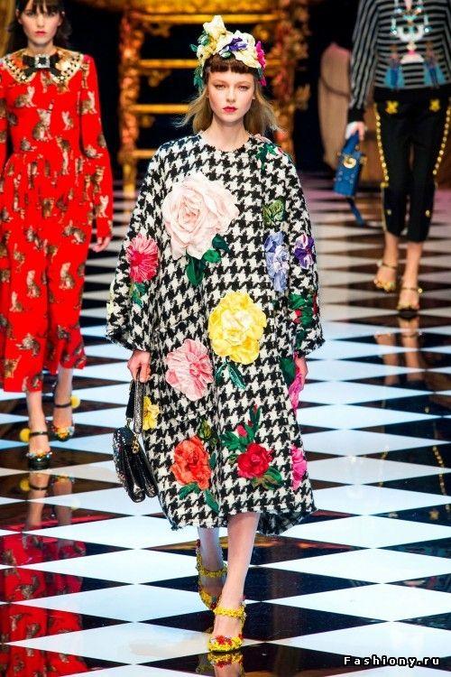 Dolce & Gabbana Осень-Зима 2016-2017
