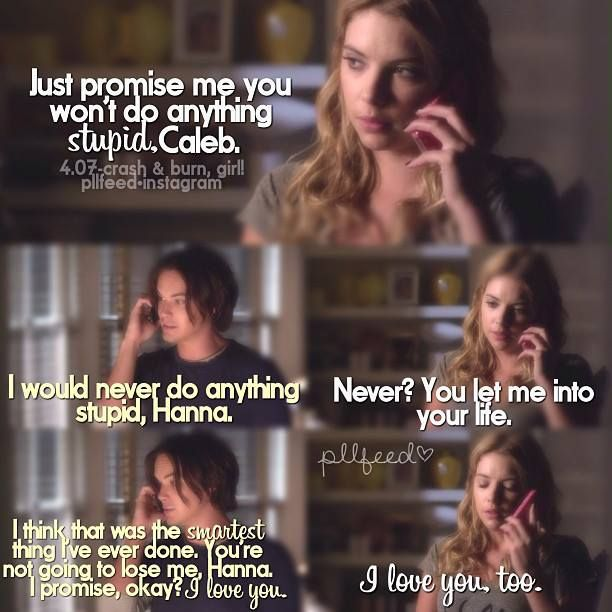 Pretty Little Liars Haleb