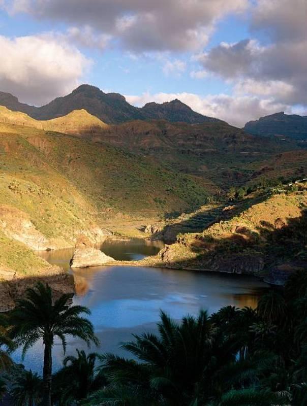 Presa de Chira, Gran Canaria, Santa Lucia, Islas Canarias
