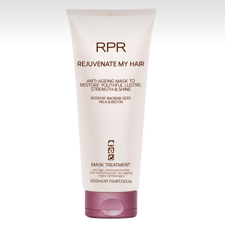 RPR REJUVENATE MY HAIR MASK. Anit-ageing to restore youthful lustre, strength and shine to hair. www.rprhaircare.com.au