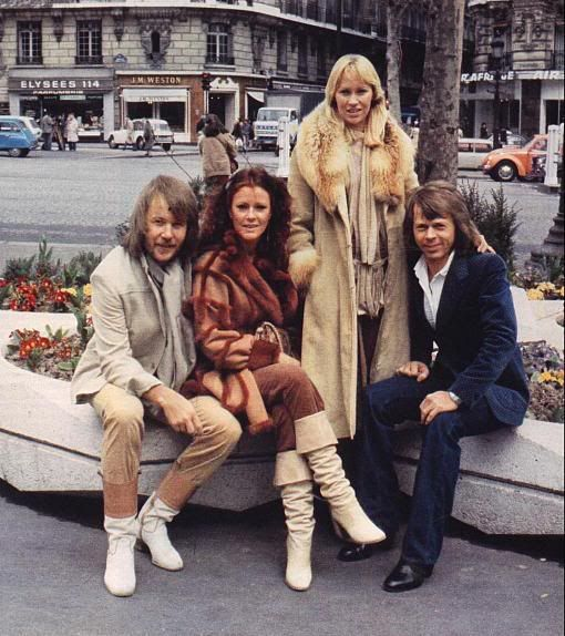 Pics of all 4 together - Seite 24 | www.abba4ever.com