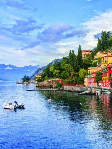 Pálmafák az Alpok lábánál? Ezt az olasz vidéket mindenképp látnod kell!