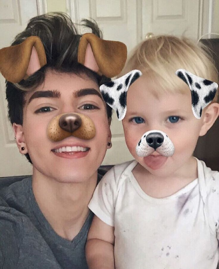 Paul and his nephew Hunter