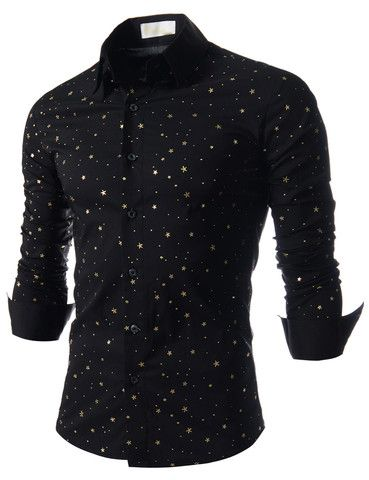 "The ""Galaxy"" Stretchy Dress Shirt – Tattee Boy Clothes"