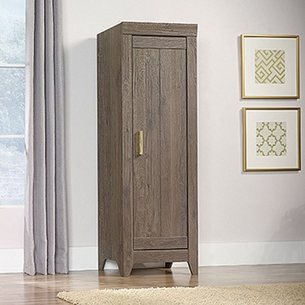 Adept Storage Narrow Storage Cabinet Fossil Oak * by Sauder Woodworking is now available at American Furniture Warehouse. Shop our great selection and save!