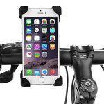 awesome Handyhalterung Motorrad und Fahrrad- Universal Lenker Handyhalter | Radsport Handy Halter | Stabile Fahrradhalterung für 3,5-6,5 Zoll Smartphone und GPS Andere Geräte