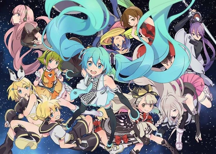 vocaloid characters wallpapers - photo #9