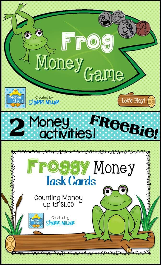 FREEBIE! There are 2 great activities in this free product - a versatile Smartboard money game that can be used for K-4 and task cards!