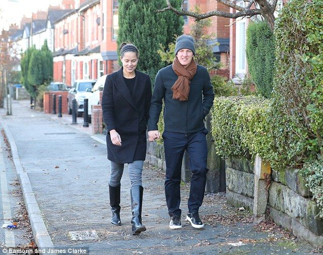 Tennis: The couple was spotted in Manchester