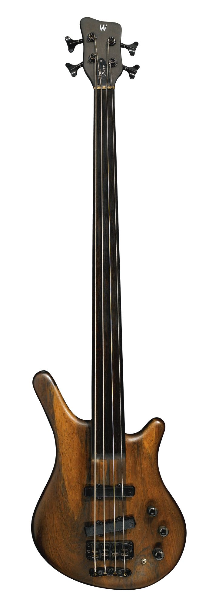 Jack Bruce's at auction:  WARWICK THUMB BASS IN NATURAL FINISH, 1993