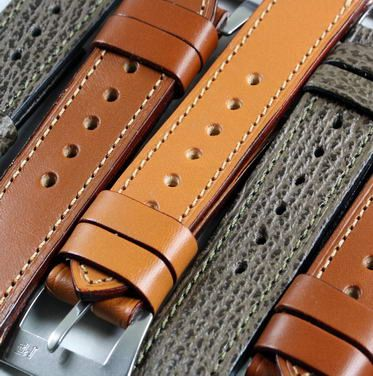 Original style straps for the Original Panerai...3mm thick, 2 loose keepers, a reproduced Pre-V buckle that matches those from 1993....All straps with SS pre-V and also PVD......and soon..Original Kodiak 100% Waterproof leather. These Pre-V's are what belong on a Panerai Watch.