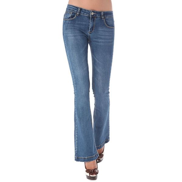 Denim flare jean - All My DIBS - 1