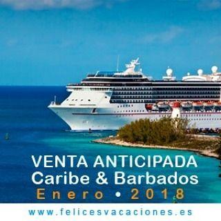 Reserva ya tu plaza para recorrer el Caribe y Barbados en enero de 2018  En Crucero de Pullmantur recorrerás Santo Domingo Dominica Barbados Granada y St Vicent. . > Conoce este y otros paquetes en nuestra web http://ift.tt/1H8kmzY < .