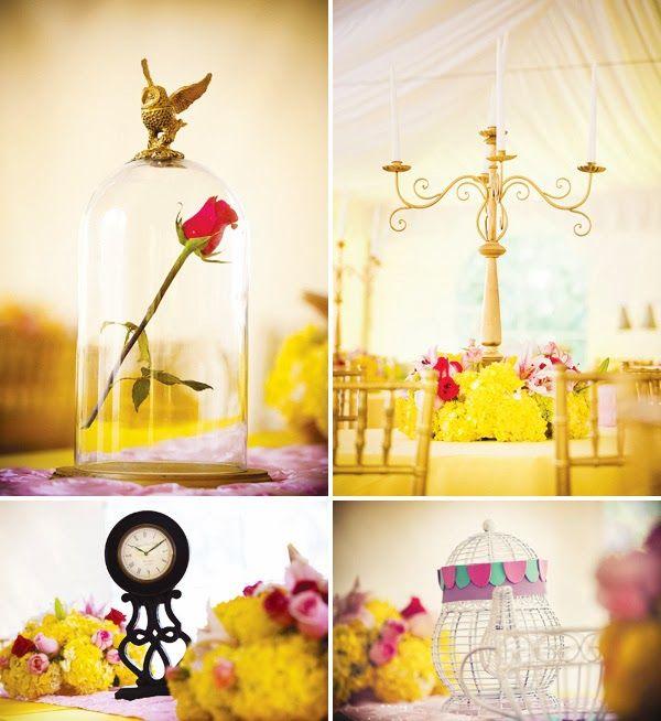 Beauty and the Beast Wedding Ideas | Wedding Decoration. http://simpleweddingstuff.blogspot.com/2014/03/beauty-and-beast-wedding-ideas.html