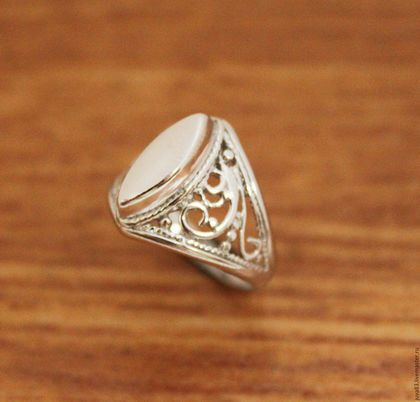 Кольца ручной работы. Ярмарка Мастеров - ручная работа. Купить Серебряное кольцо Маркиза, серебро 925 пробы. Handmade. Серебряный