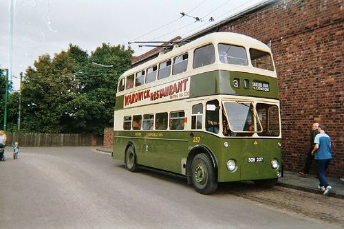 Trolley+bus,+Black+Country+Museum