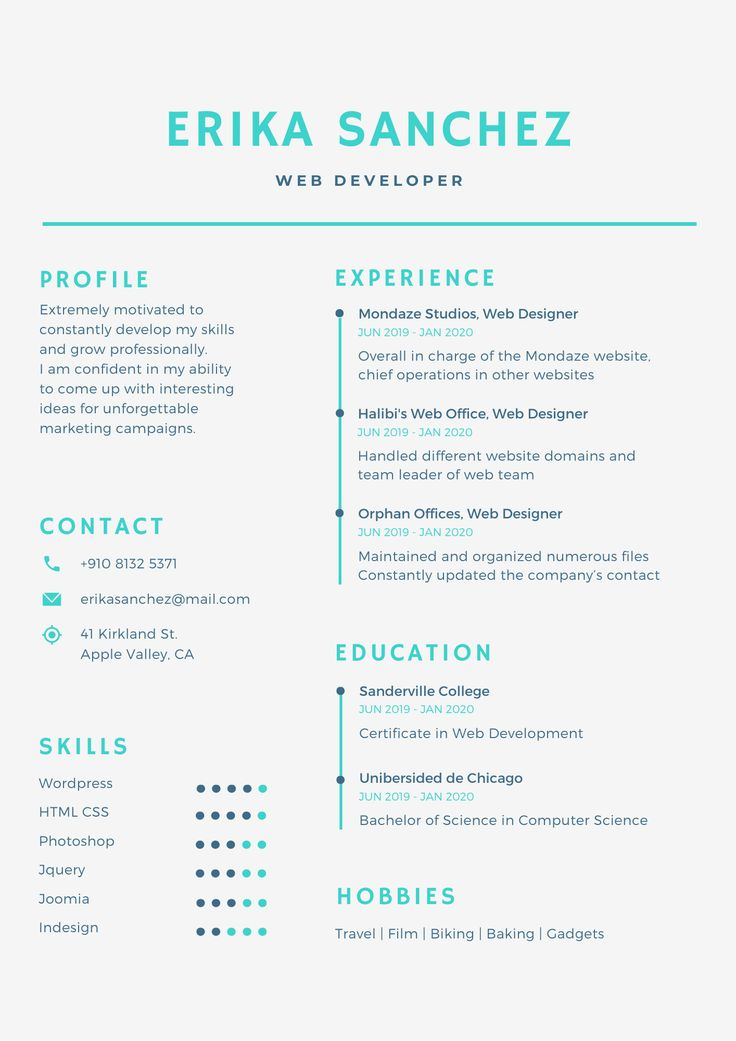 Design professional resume, cover letter, cv within 2