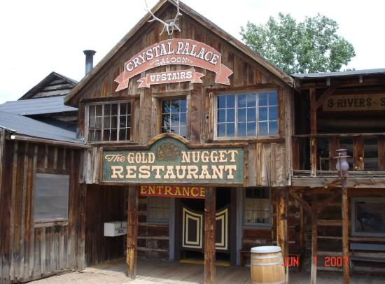 Buckskin Joes Old Western Town, Canon City CO. Several westerns were made here including The Sacketts with Tom Selleck