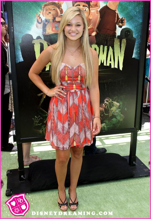 "Olivia Holt At The ""ParaNorman"" Movie Premiere"