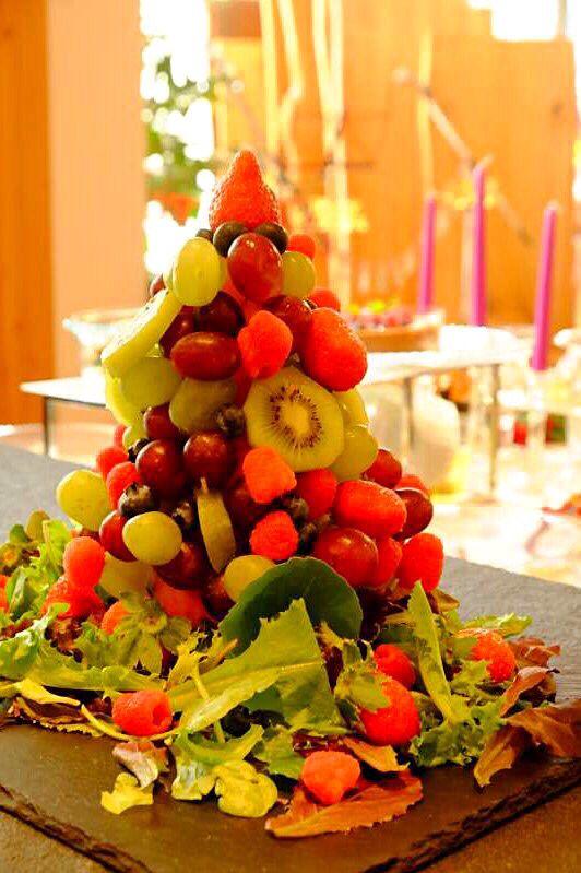 クリスマスパーティー                                          ブィッフェケイタリング 16                                       フルーツ盛り合わせ