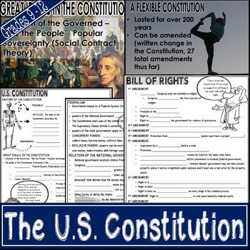 This 67 slide PowerPoint presentation on the U.S Constitution covers a myriad of topics including: - Contents of Constitution - Ideals of Constitution - Federalism - Interstate Relations - Limits of Government - the 3 Branches - Checks and Balances - Flexibility of Constitution - Amendment Process - Bill of Rights - Amendments 11- 27