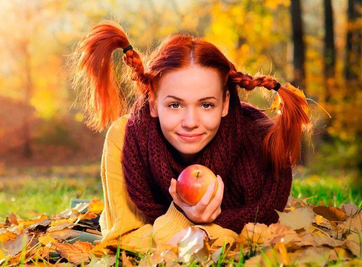 Ну, здравствуй осень! Юная девица! ...
