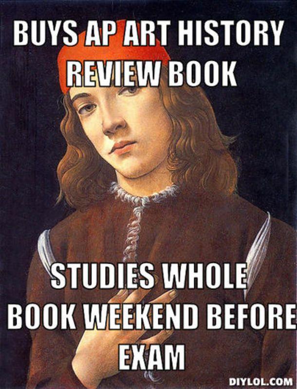 Critique album homework meme
