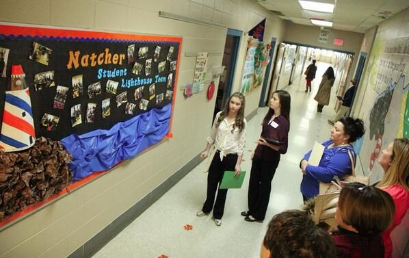 Student lighthouse bulletin board | Environment- Leader in ...