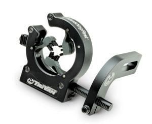 Mid-Atlantic Archery Tri-Van Vanishing arrow rest http://www.outdoorlife.com/photos/gallery/hunting/bowhunting/gear-accessories/2009/01/ata-bow-show-09?photo=8#node-1001307696
