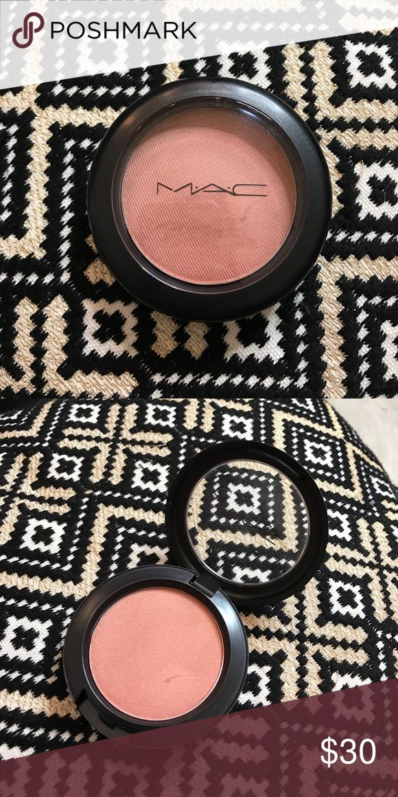 MAC Margin Blush Accidentally purchased 2 - this hasn't been used! Minor scratch on surface from my nail on accident lol. Beautiful color- one of my go tos for any natural look! Topshop Accessories