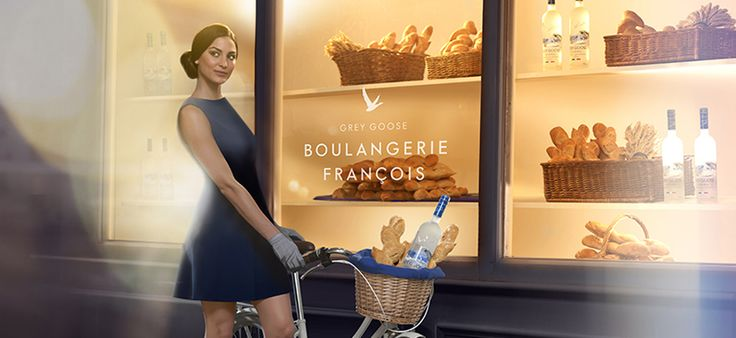 Boulangerie François, an artisan bakery in Soho, serves bread made from the same wheat used to create GREY GOOSE vodka. GREY GOOSE® Vodka | The World's Best Tasting Vodka
