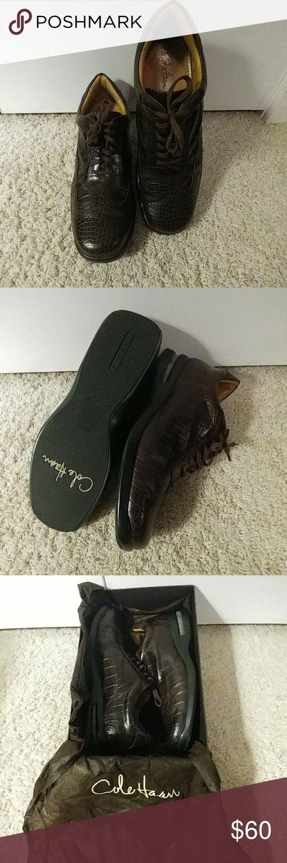 Cole Hann Crocodile Skin Shoes Shoes