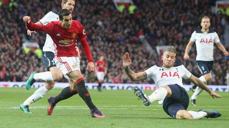 Tottenham Berhasil Tundukan Manchester United 2-1 di White Hart Lane