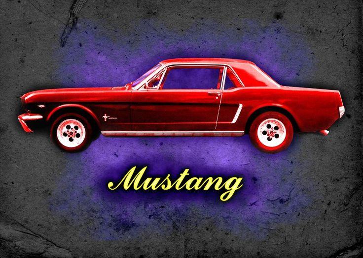 Sold!! Thanks to the recent buyer of this 'Vintage Mustang' Displate Metal Print @displate #displate #metalprints #art #cars #design #motorcars #musclecars #fordmotors #fordmustang #mustang #redcars #wheels #hot #hotwheels #wallart #homedecor #garageart