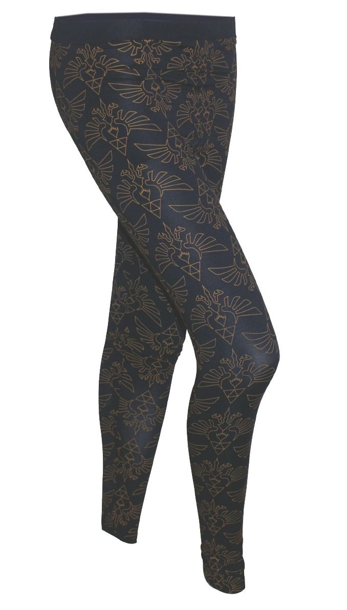 Gamer heaven - Legend of Zelda Blue Ladies Leggings with Zelda Print, $35.43 (http://www.gamer-heaven.net/legend-of-zelda-blue-ladies-leggings-with-zelda-print/)