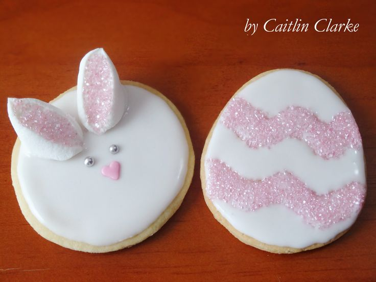 @CaitlinJaydeC Easter Bunny Cookies & Easter Egg Cookies - My very own contribution to the world of Pinterest. I used a basic Sugar Cookie recipe and the Royal Icing recipe was from --> Taste.com.au Easter Bunny --> https://youtu.be/N0oBP-vQDO8 Easter Egg --> https://youtu.be/R_eeIbpA65I Easter CHICK Tutorial --> http://youtu.be/C4ILm5_fSMM Easter cookies