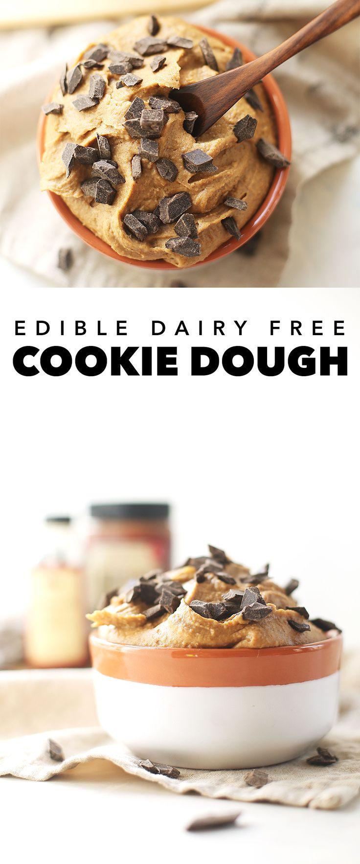 Edible Dairy Free Cookie Dough