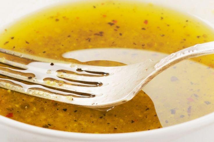Moutarde de Dijon et sirop d'érable...Une vinaigrette extra