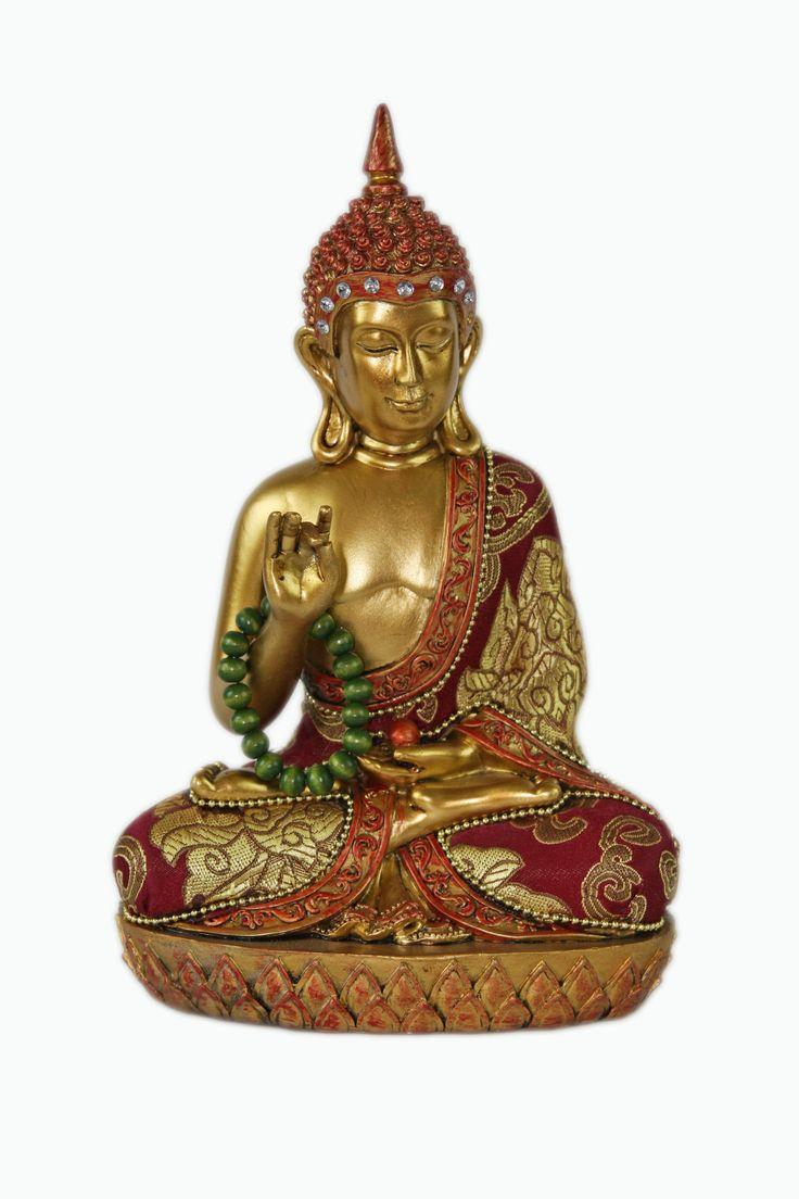 "Large Buddha Statue Figurine Protection Buddha 9"". Find it at www.jkspiritualgifts.com"