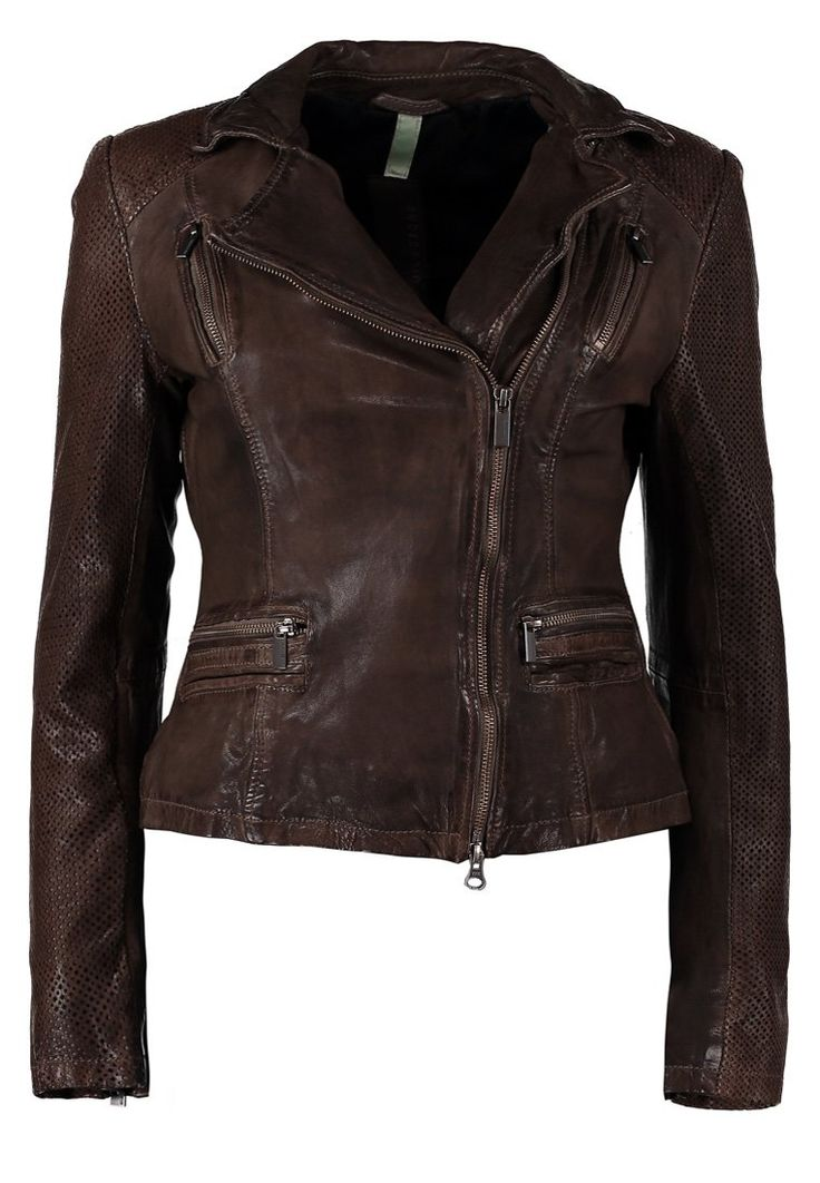 Milestone CHAZ Leather jacket brown
